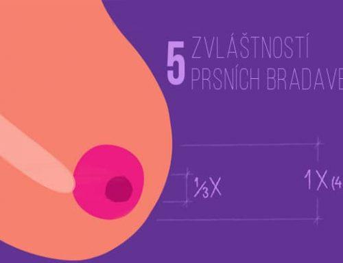 5 zvláštností prsních bradavek, které jsou ve skutečnosti naprosto normální