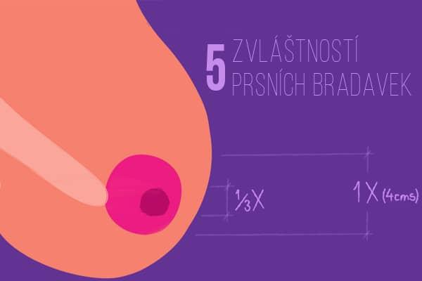5 zvláštností prsních bradavek, které jsou ve skutečnosti normální