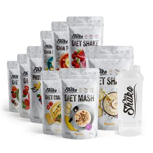 ChiaShake proteinové koktejly - Balíček na 4 týdny