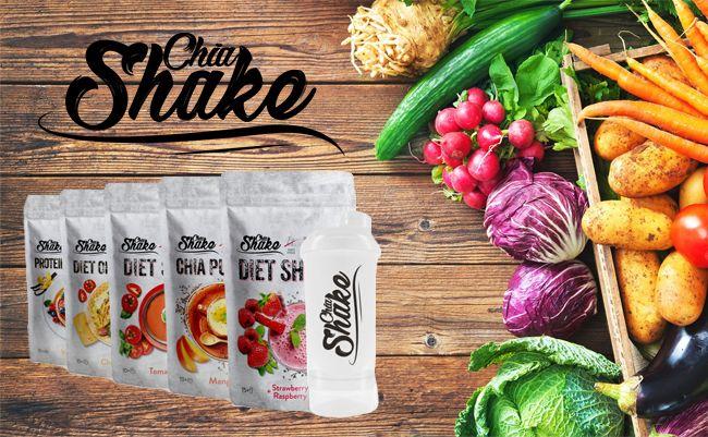 Chia Shake recenze: Proteinové dietní koktejly