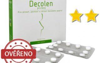 Recenze DECOLEN - Doplněk stravy na zvětšení prsou