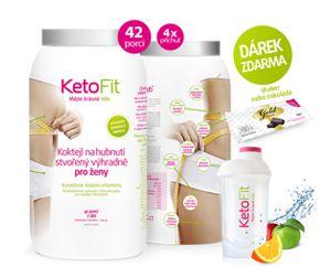 Ketofit - Nízkosacharidové stravování