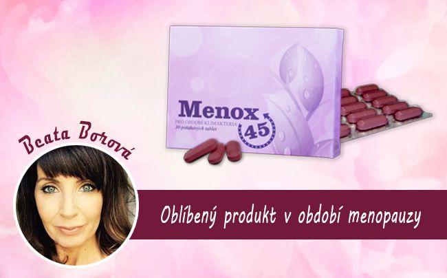 Menox 45: jedinečný doplněk stravy, který vám pomůže s příznaky menopauzy