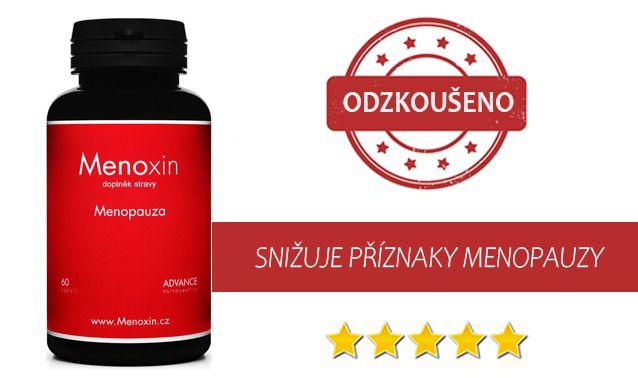 Menoxin: Nejoblíbenější produkt na snížení příznaků menopauzy