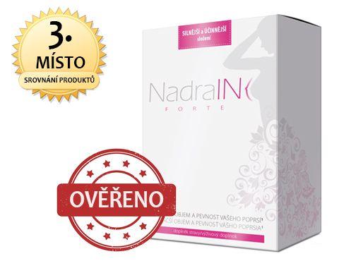 NadraIN Forte - Prášky na zvětšení prsou