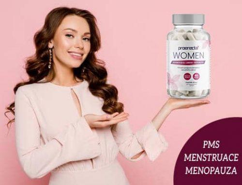 Proerecta women recenze: Produkt na PMS, menopauzu a menstruaci