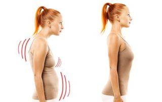Tajemství správného držení těla - Zvětšení prsou vizuálně