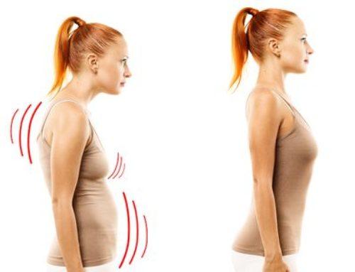 Tajemství správného držení těla: vizuálně krásnější postava, větší a pevná prsa