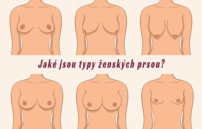 Typy ženských prsou: Jaký typ prsou máte vy?