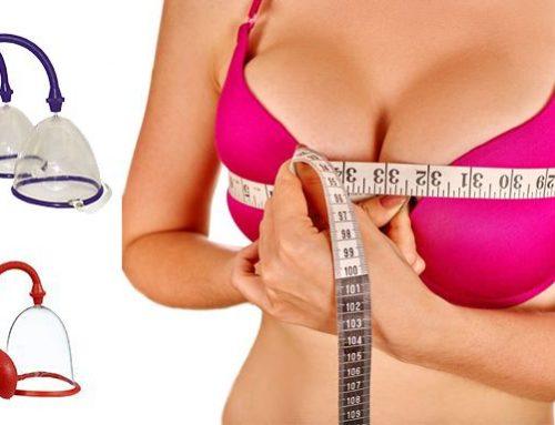 Vakuová pumpa na prsa: skutečně vám zajistí trvalé zvětšení prsou?